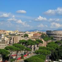 Weer in Rome