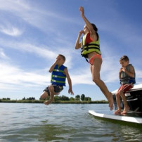 Zwemmen in open water: de risico's