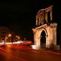Nachtleven in Athene