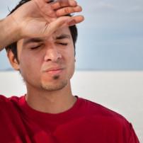 Oorzaken van oververhitting of zonnesteek