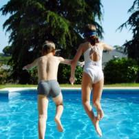 Kindvriendelijk en veilig zwembad