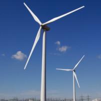 Elektriciteitsproductie van een windturbine