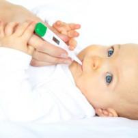 Koorts bij doorkomende babytandjes