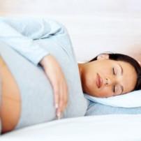 Problemen om te slapen tijdens de zwangerschap