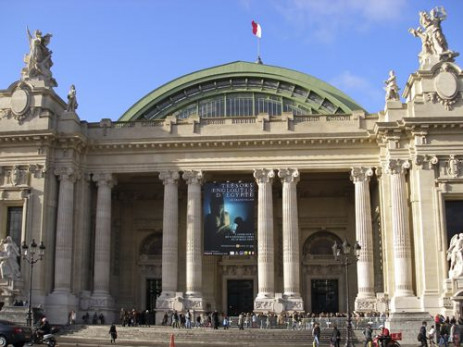 Voorkant van het Grand Palais
