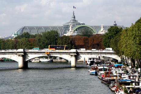Dak van het Grand Palais