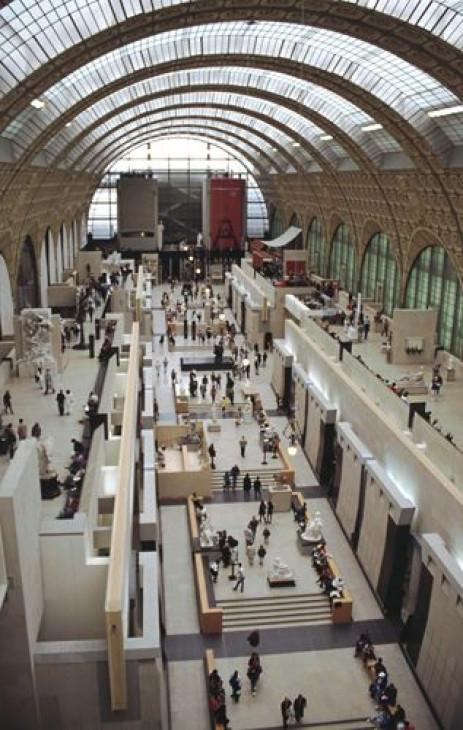 Binnen in het Musée d'Orsay