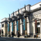 Zijaanzicht op de Koninklijke Musea voor Schone Kunsten
