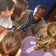 Kinderen in het Koninklijk Museum voor Midden-Afrika