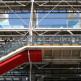 Trap van het Centre Pompidou