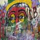 Grafitti op de John Lennon-muur