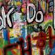 Grafitti op een muur