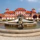 Fontein voor het Chateau Troja