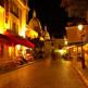 Nachtbeeld van Montmartre