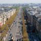Verkeer op de Champs-Elysées