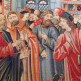 Kunstwerk in het Musée de Cluny